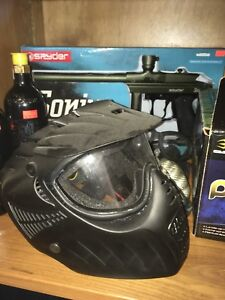 Complete paintball gear