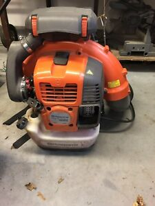Leaf Debris Backpack Blower Husqvarna 580 BTS