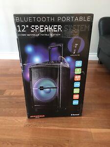 Brand new in box Bluetooth portable speaker