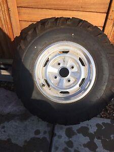 Suzuki king quad tires
