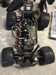 Traxxas stamped 4x4 with momba max