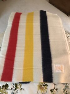 Pair of Matching Hudson Bay Wool Blankets