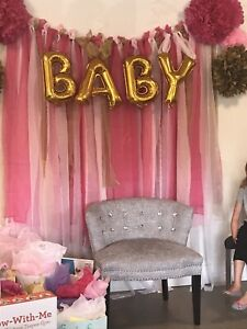 Baby Shower Back Drop