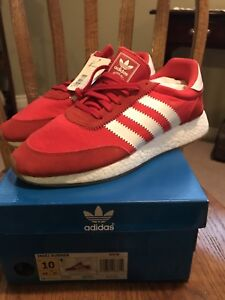 DS Red Adidas Iniki Boost Size 10