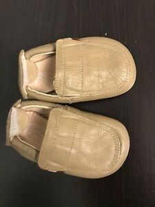 Tip Toey Joey soft leather footwear (6-9 m)