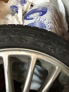 4 FOUR SEASON TIRES P235/45R 17 94V M+S