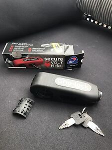 Grip-Lock Motorcycle and scooter Security Lock - Black