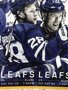 Toronto maple leafs vs St. Louis blues SATURDAY OCT 20