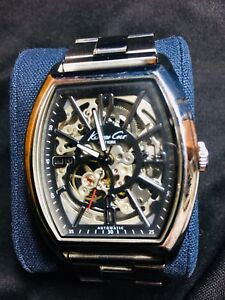 Kenneth Cole Skeleton Automatic Watch