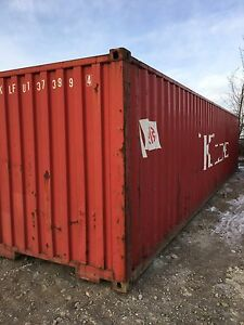 Sea Container 40ft - starting at $1650 each