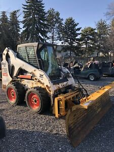 2010 Bobcat S185 (Heated Cab) Low hours