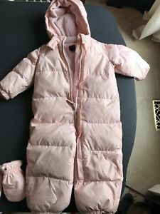 Gap 18-24 months down snowsuit