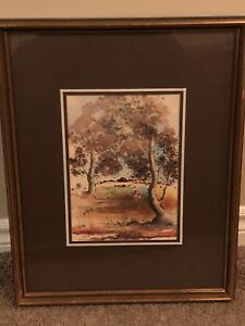 Beautiful painting and frame for your home
