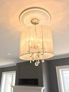 Light chandeliers pair sold as pair or individuals