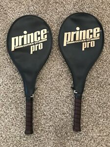 Two Prince Pro Tennis Rackets