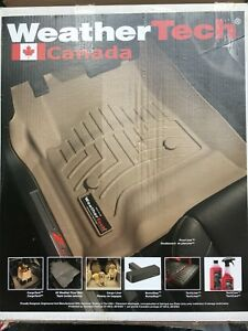 F 150 Weather tech floor mats for the front driver and passe