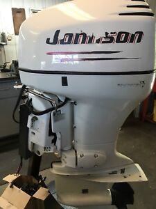 Johnson 90hp outboard motor $4500