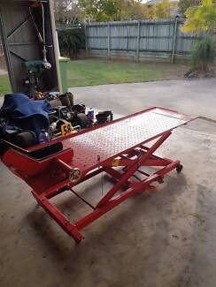 Hydraulic Motorcycle Lift for sale