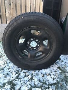 Winter tires and rims f150 - 265/70/17 - in good condition