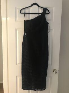 Black Cocktail Designer Dress