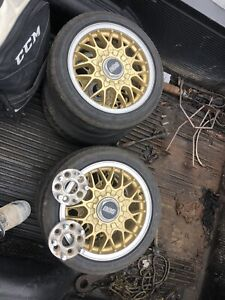 """15"""" BBS Rims with all centre caps"""