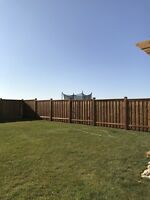 We build and repair fences . Free quotes !!