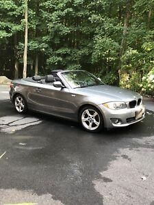 BMW 128i convertible 2012 automatique, cuir