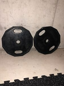 45 pound weightlifting Plates