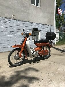 Scooter Moped YAMAHA U7E year 1974