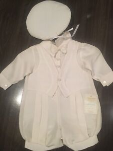 Baptism christening outfit size 3m