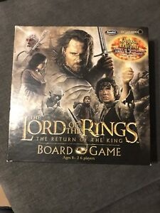 Lord of the Rings board game. Return of the King