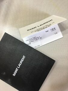 Saint Laurent Gift Card With $1022 in it!