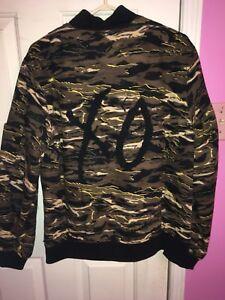 SELLING Puma XO The Weeknd Camo Bomber Jacket (1 LEFT)
