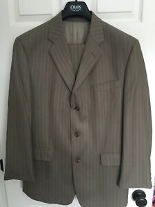 Ralph Lauren Chaps tan business suit