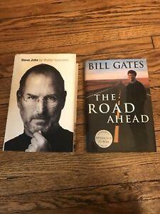 Apple- Steve Jobs & Microsoft - Bill Gates hardcovers