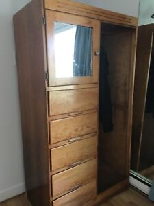 Wood cabinet /SOLD