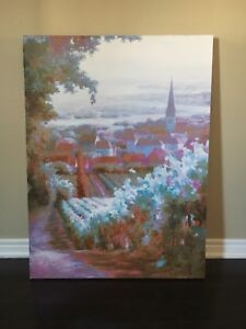 Large Canvas Painting