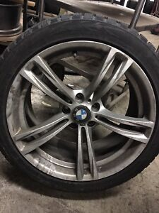 255/40/19 winters 5x120 toyo G3 ice BMW mag and tire