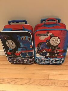 Thomas the train rolling suitcase