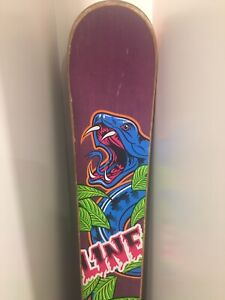 Line Shorty Afterbang Skis 2012 - used for one season