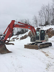 Spin-ace LX135 excavator