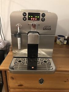 Gaggia brera fully automatic espresso machine coffee maker