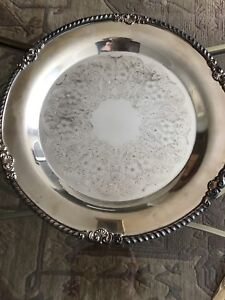Silver plated serving pieces-REDUCED!