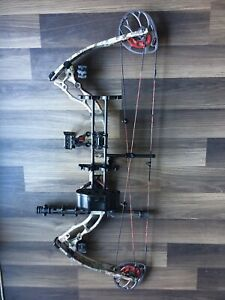 Blackout S3 compound bow (left handed )  #hunting #bows #arrows
