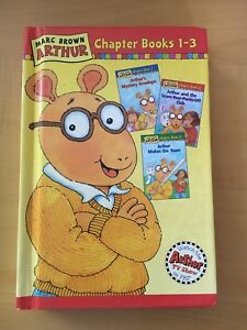 Marc Brown hardcover Arthur Chapter Books 1-3
