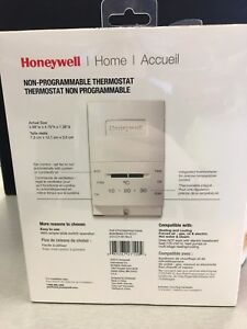 Honeywell CT51N Heat/Cool Non-Programmable Thermostat - NEW