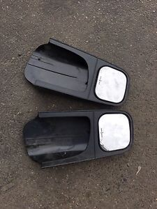 Towing extension mirrors