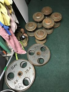Olympic weight plates and Dumbbell sets