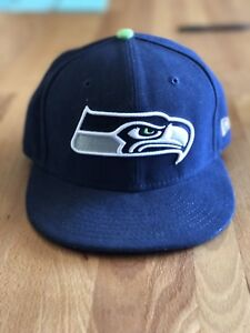 Seattle Seahawks New Era Fitted Hat