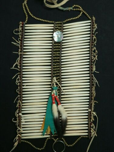 Native American Chest plate - Sioux Lakota - Vintage